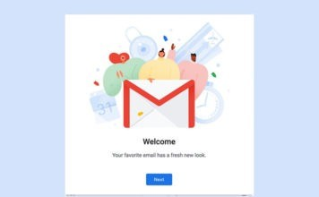 The new Gmail is fully redesigned customized app right now in 2018