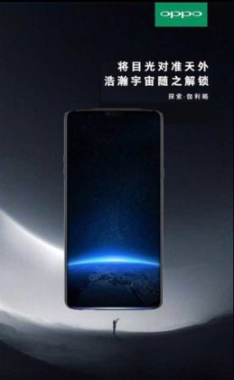 Oppo Find X Smartphone Image and Specification Leaked: Features a Slightly Curved Notch