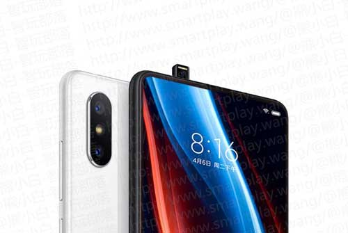 However, the front pop-up camera module and the display is similar to Vivo NEX smartphone.