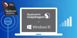 Qualcomm announced the Snapdragon 850 Mobile Compute Platform for Windows 10 PCs.