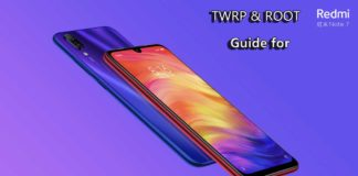 How To Install TWRP Recovery and Root Redmi Note 7