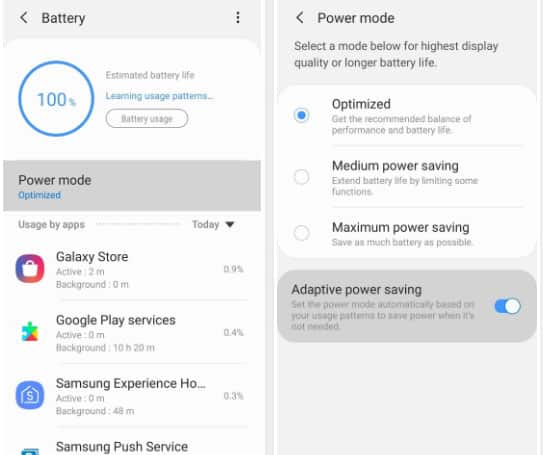 How to improve Battery Life on Samsung Galaxy S10