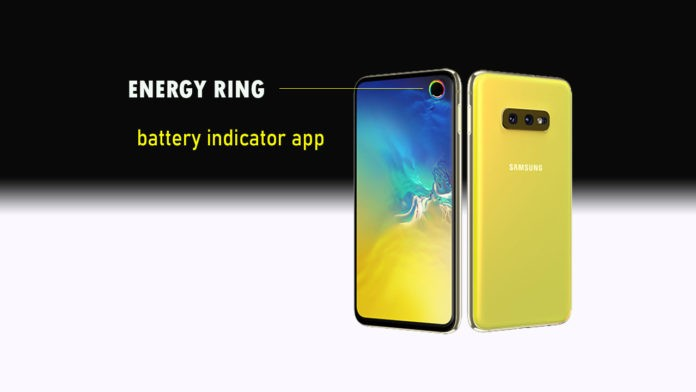 How to display Battery Indicator on Galaxy S10 Camera hole