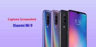 How to Capture Screenshot on the Xiaomi Mi 9 Device [3 Steps]