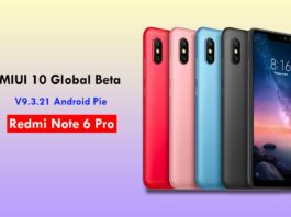Install MIUI 10 Global Beta ROM 9.3.21 on Redmi Note 6 Pro (Android Pie)