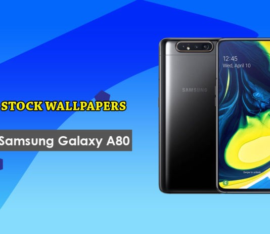 Download Samsung Galaxy A80 Stock Wallpapers in Full HD+