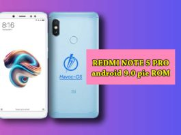 How to download and install Havoc OS on Redmi Note 5 Pro (Android 9 Pie)