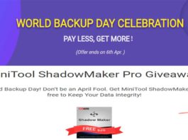 MiniTool Giveaway and Bundle Offers for World Backup Day 2019