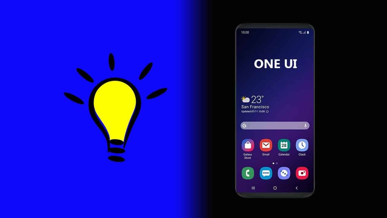 How to enable dark mode on Galaxy One UI devices [Android 9