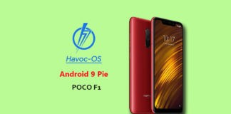How to download and install Havoc OS on Poco F1 (Android 9 Pie)