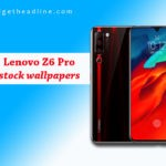 Download Lenovo Z6 Pro Stock Wallpapers in Full HD
