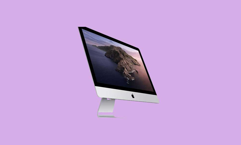 iMac 27-inch 2020 Stock Wallpapers (Download)