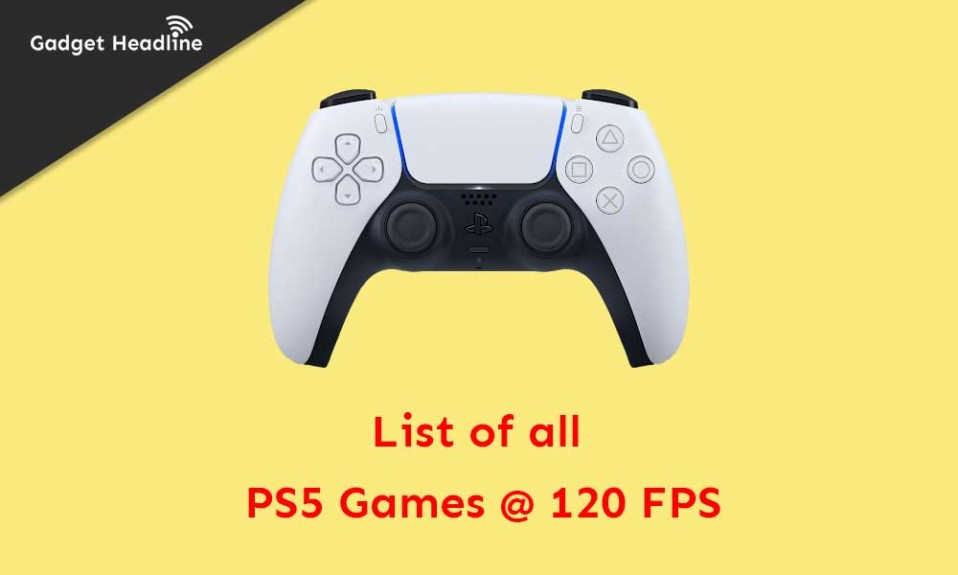 List of all 120 FPS supported PS5 Games