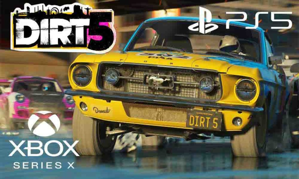 When will Dirt 5 release for PlayStation 5 and Xbox Series X