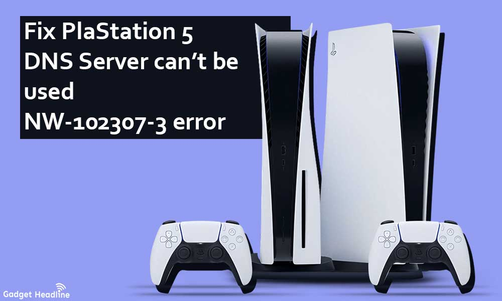 Fix PS5 DNS Server can't be used NW-102307-3 error
