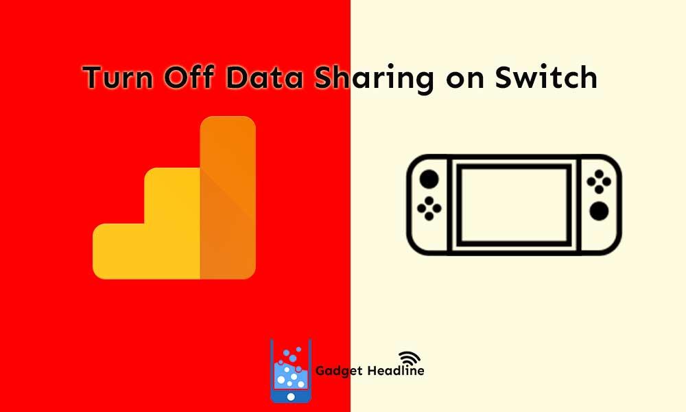 Guide to turn off data sharing via Google Analytics on Nintendo Switch